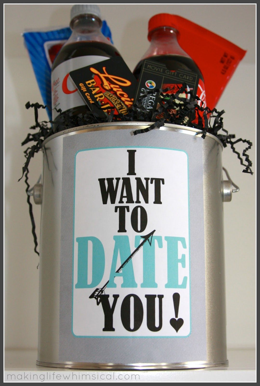 Free date night can printable and other great ideas for