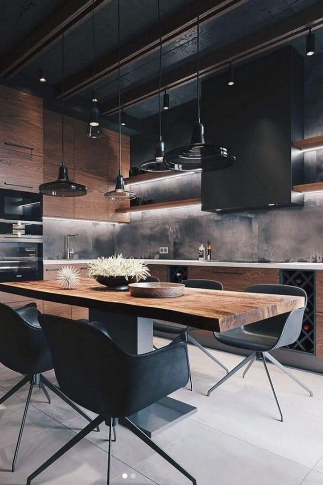 29 Awesome Modern Kitchen Luxury Design Ideas For 2020 In 2020 Scandinavian Kitchen Design Luxury Kitchens Home Decor Kitchen