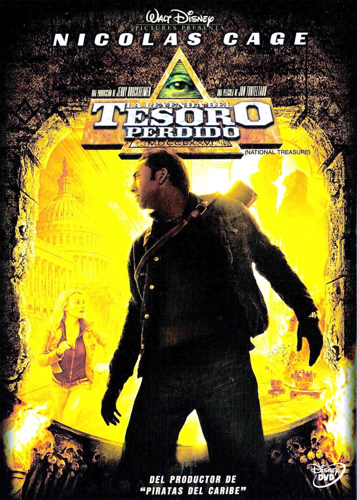 La Leyenda Del Tesoro Perdido 1 National Treasure Movie National Treasure Full Movies