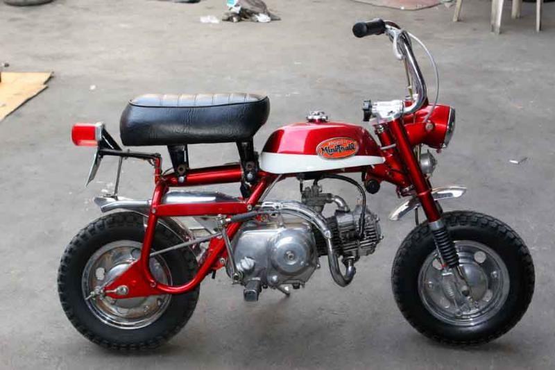 Honda Mini 50 Photo And Video Reviews All Moto Net Honda Honda Motorcycles Motorcycle Helmets Vintage