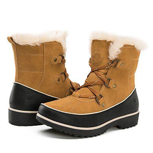 6c49e001fdce Global Win Women s 1728 Winter Boots (6.5 (M) US Women s