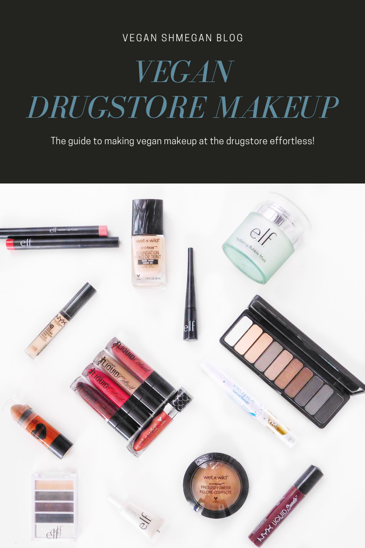 Vegan Makeup at the Drugstore Vegan makeup, Drugstore