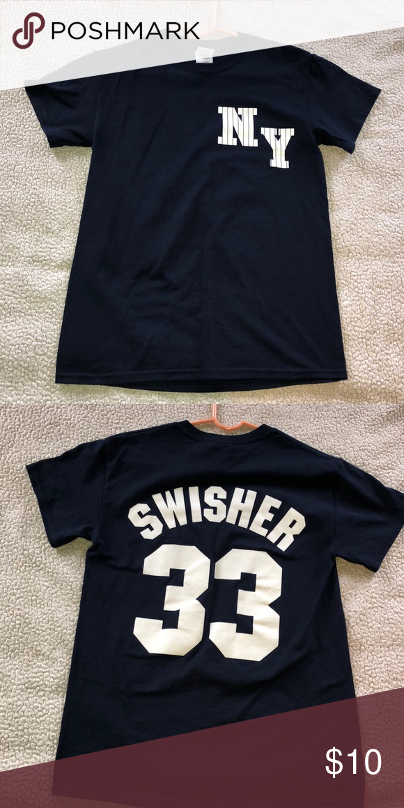 newest 90834 5b4e0 Yankees Nick Swisher shirt NY Yankees nick swisher shirt ...