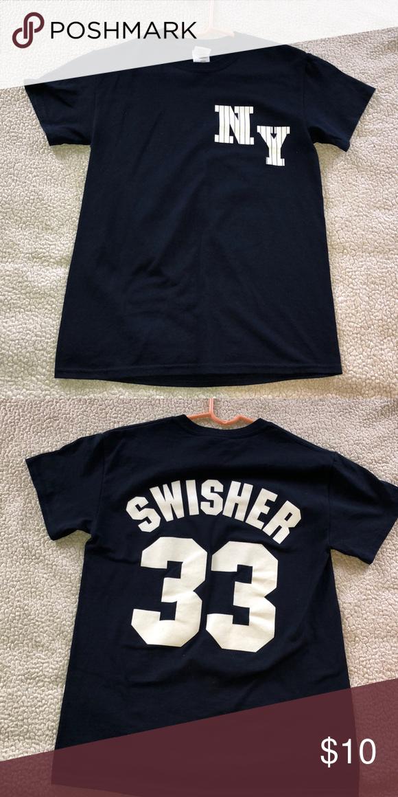 newest 6b0e8 ebb21 Yankees Nick Swisher shirt NY Yankees nick swisher shirt ...