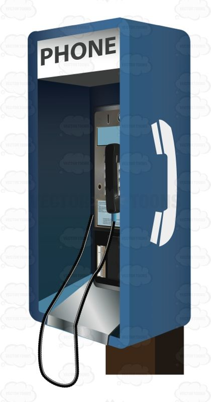 Blue Payphone With Change Slots #classic #classical #dated #dial #pay #payphone #prime #talk #telephone