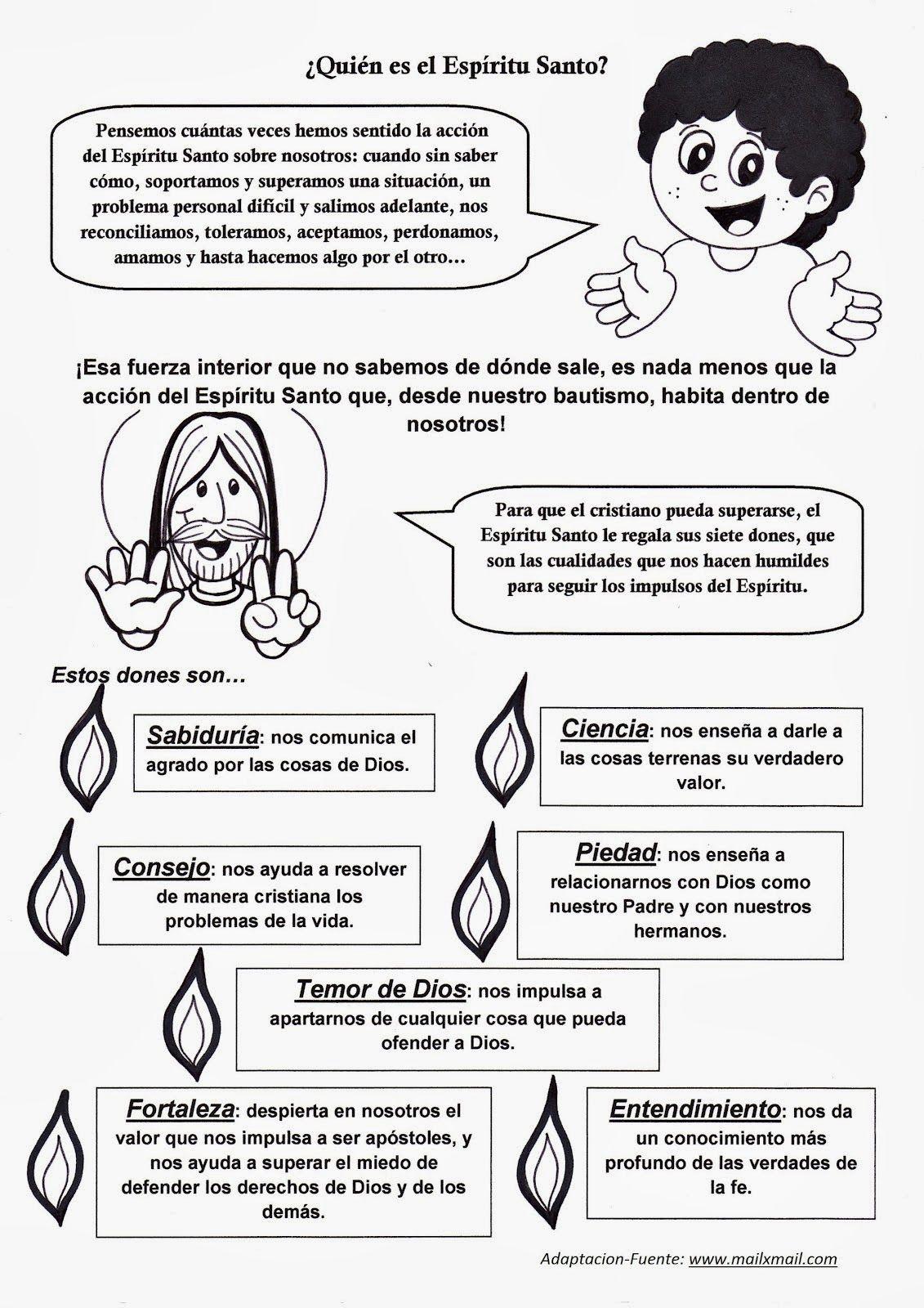 Gifs y Fondos PazenlaTormenta: IMAGENES DEL ESPÍRITU SANTO PARA ...