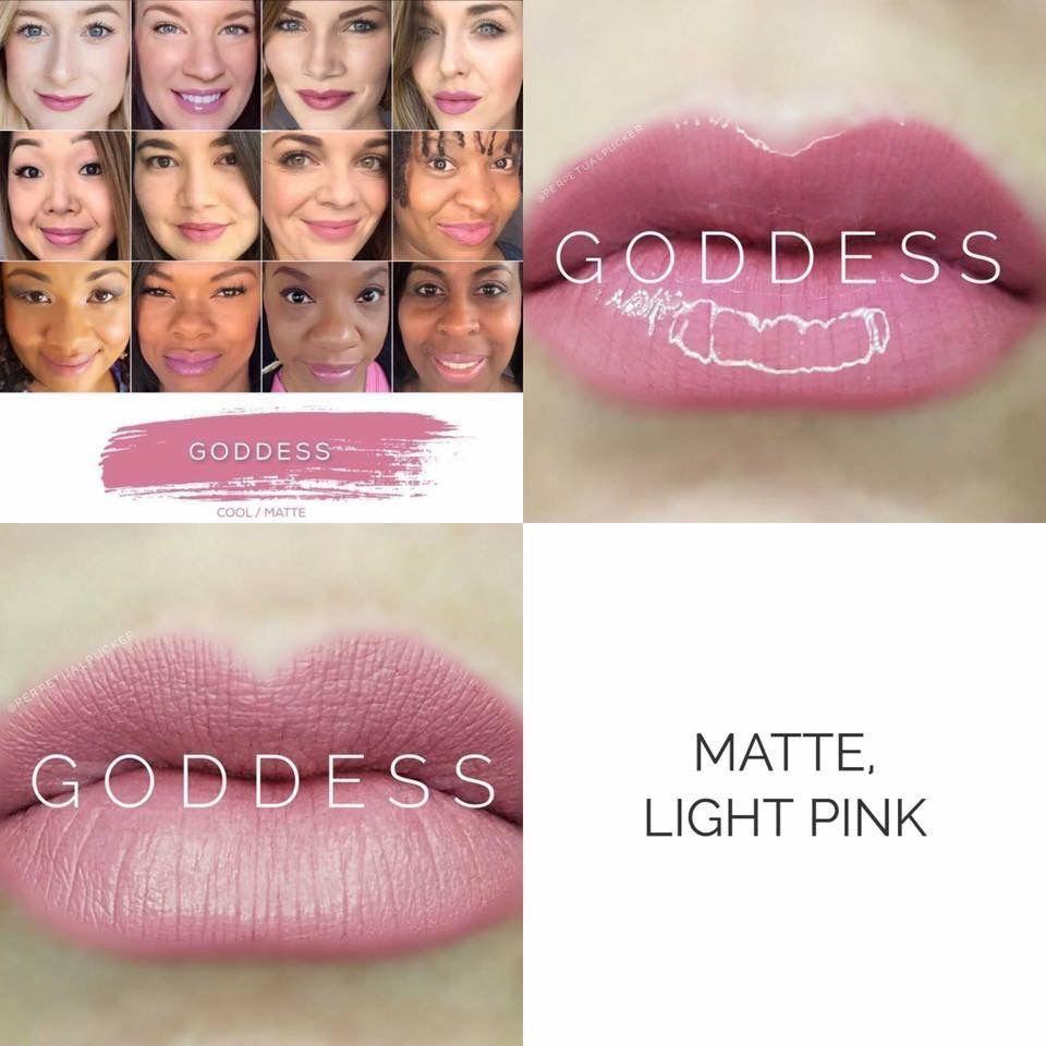 Matte Light Pink colour GODDESS