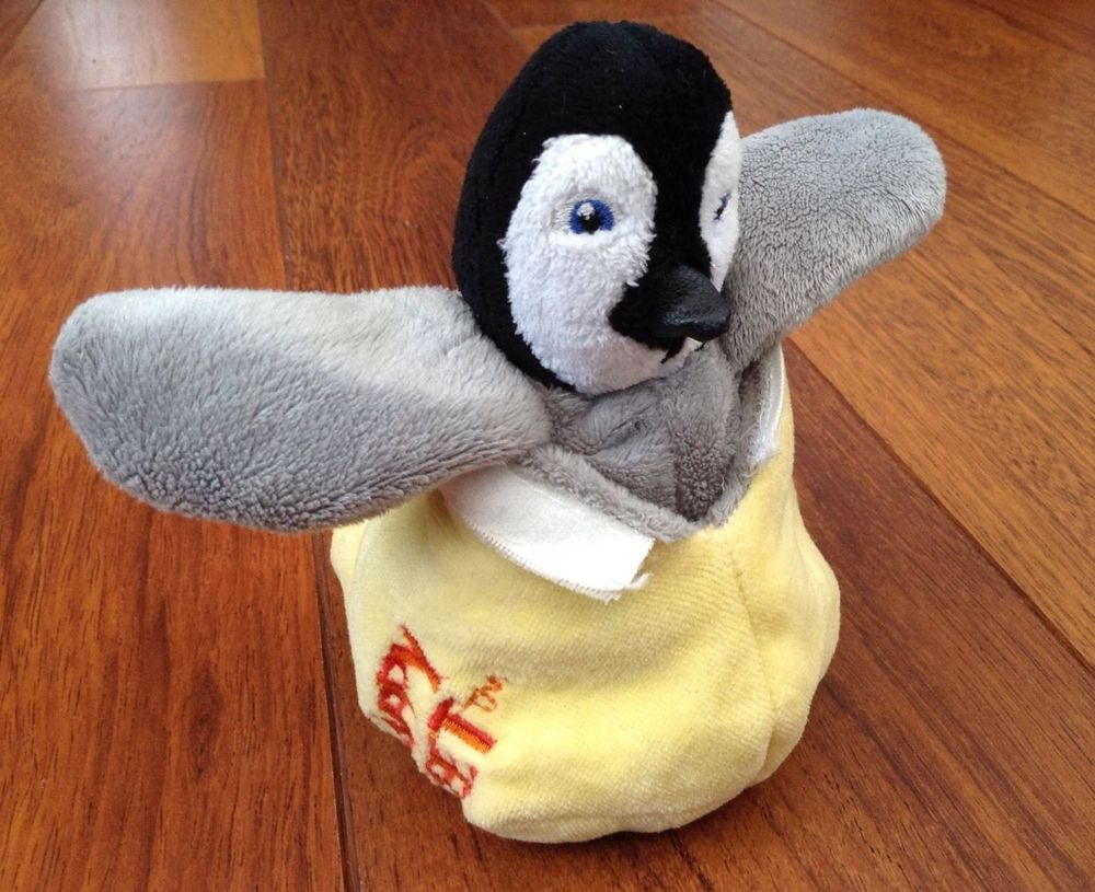 Persil Collectable Happy Feet Reversible Change To Egg Soft Toy