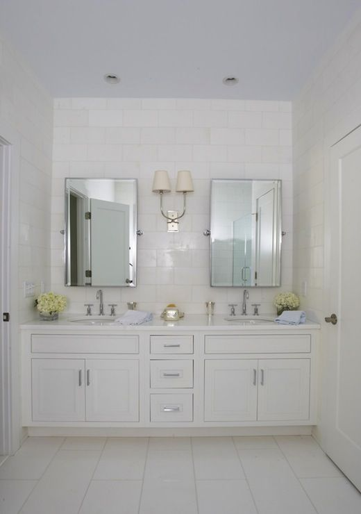Lynn Morgan Design Master Bathroom With Blue Painted Ceiling And