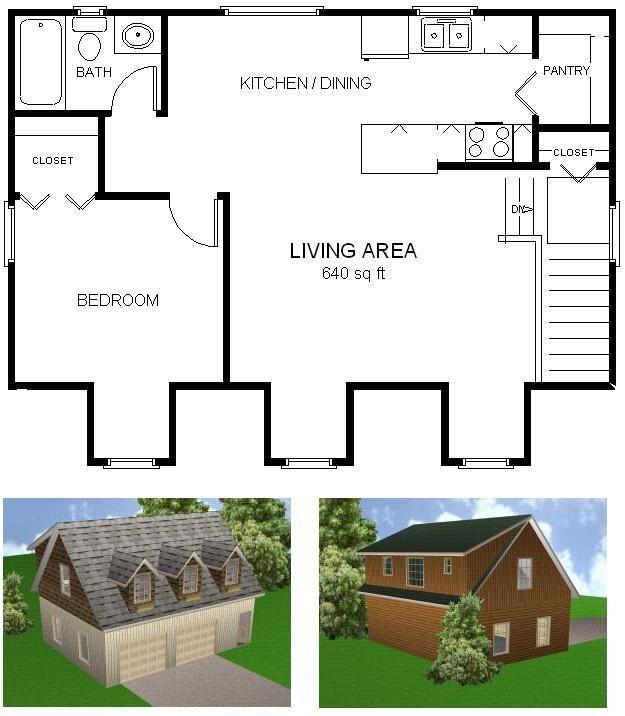 24x32 cottage plans joy studio design gallery best design for Garage apartment plans craftsman