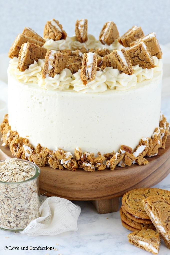 Oatmeal Cream Pie Layer Cake Recipe Oatmeal Cream Pies Savoury Cake Yummy Cakes