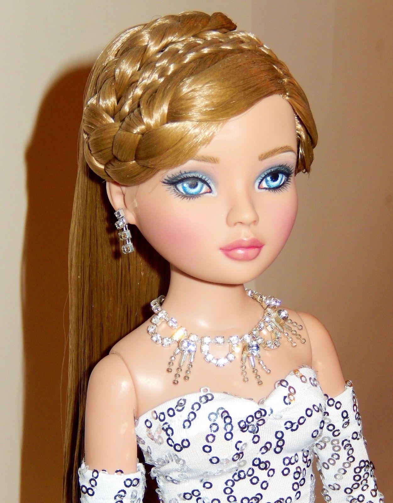 Tonner Ellowyne Wilde OOAK Timid Tan Repaint Doll Cindy Lorimer NUDE