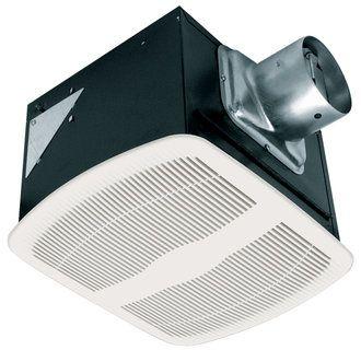 Broan Nutone Ultra Silent Quietest Bathroom Fan Energy Star Qtxen Bathroom Fan Bathroom Exhaust Fan Bathroom Exhaust