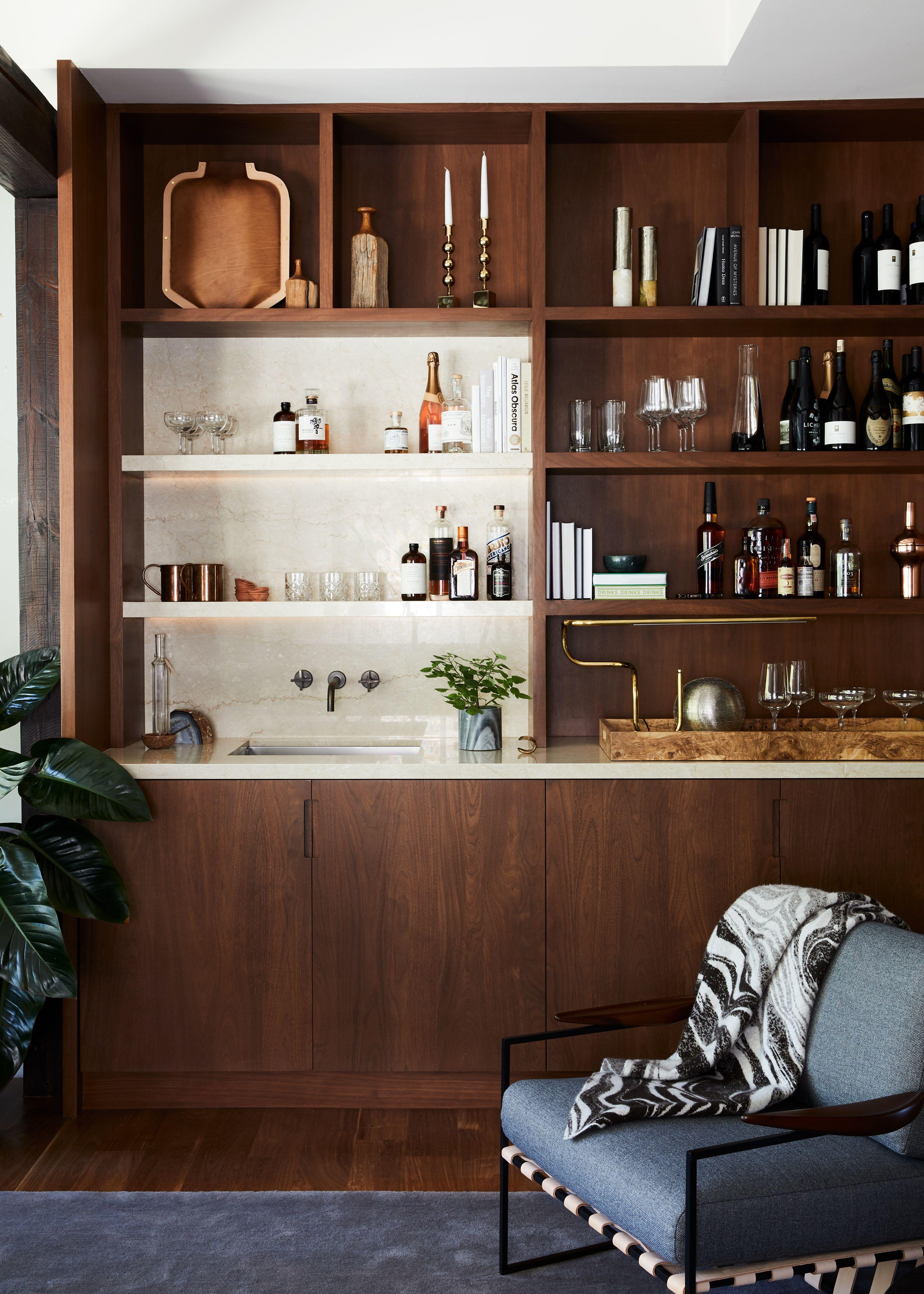 Lauren Geremia San Francisco Bachelor Pad Home Tour Home Bar Designs Modern Home Bar Bar Furniture