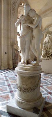 Eros y Psique. Autor: Antonio Canova. Museo del Louvre.