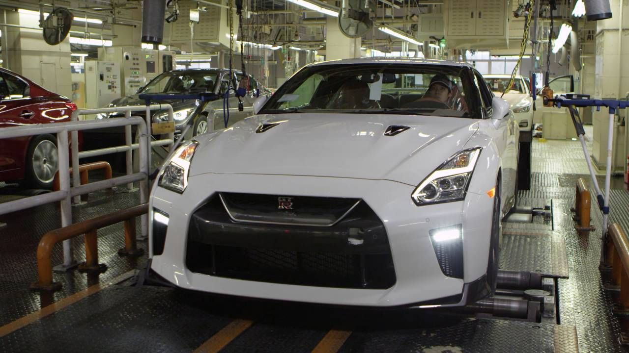 Interesting 2017 Nissan GT R At Nissan Tochigi Factory Check More At Http:/