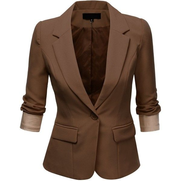 Just love this. Need a brown blazer really bad..... J.TOMSON ...