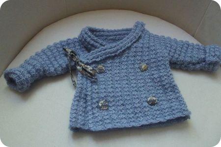 modèle tricot bébé la droguerie | Modele tricot bébé, Tricot bébé, Modele tricot