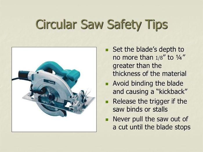 Circular Saw Safety Tips And Guides Circular Saw Safety Tips Skil Saw