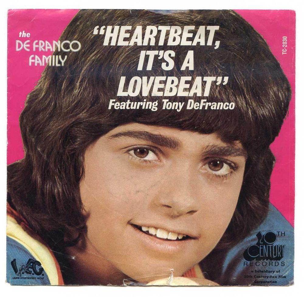 1973 The De Franco Family Picture Sleeve NO RECORD 45 RPM 20th Century TC-2030