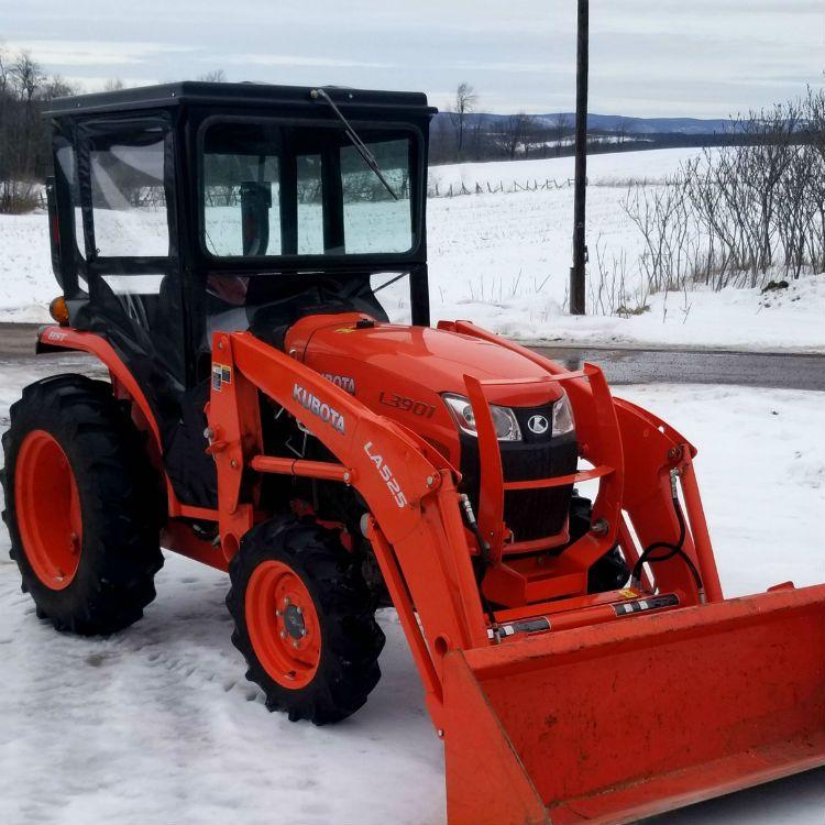 Hardtop Tractor Cab Enclosure For Kubota L2501 L3301