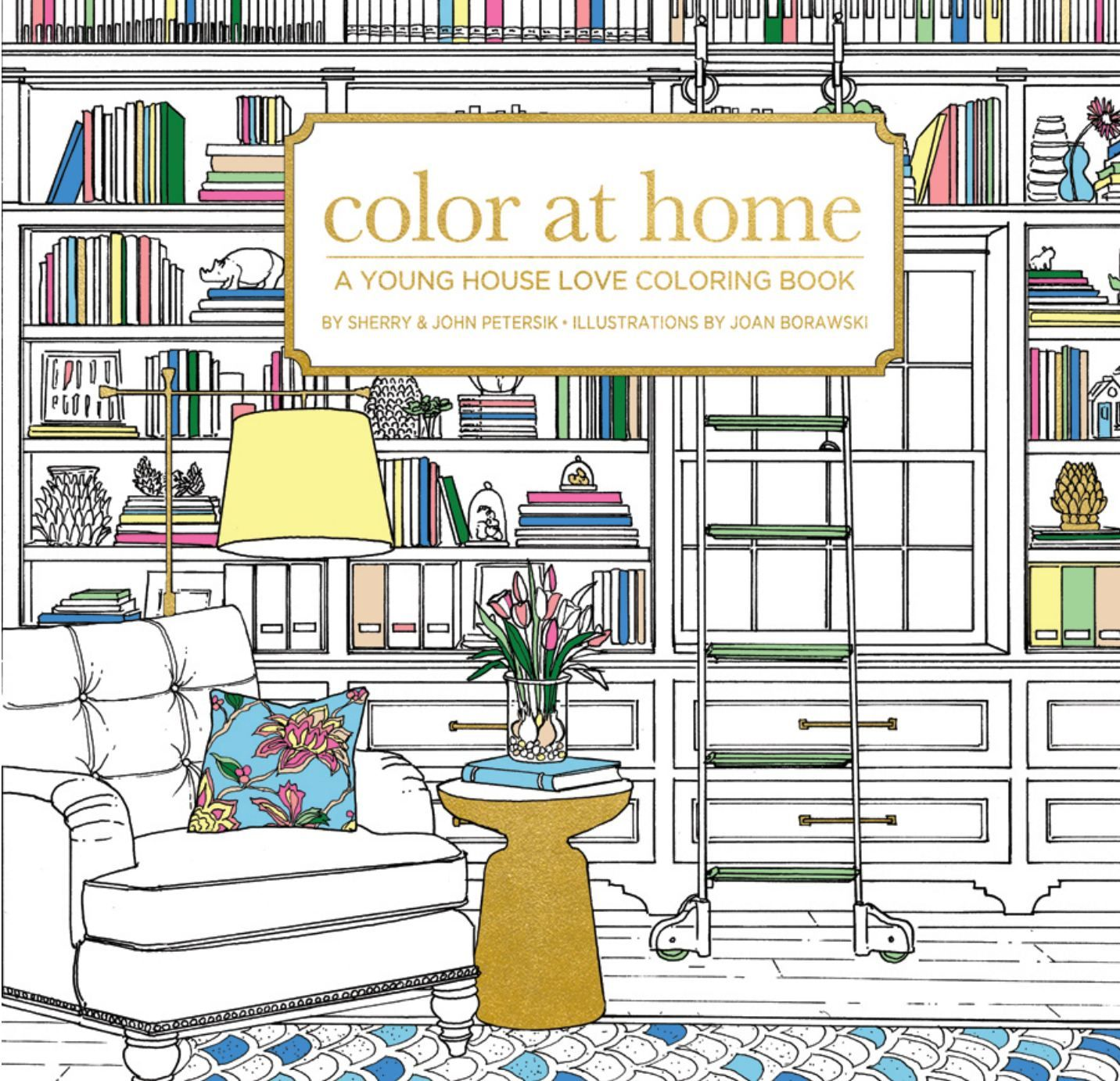 A Home Decor Coloring Book Is Coming From Young House Love