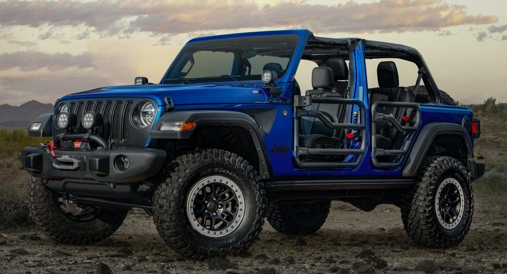 2020 Jeep Wrangler Jpp 20 Limited Edition Is High On Mopar S Jeep Performance Parts In 2020 Jeep Performance Parts Jeep Wrangler Jeep