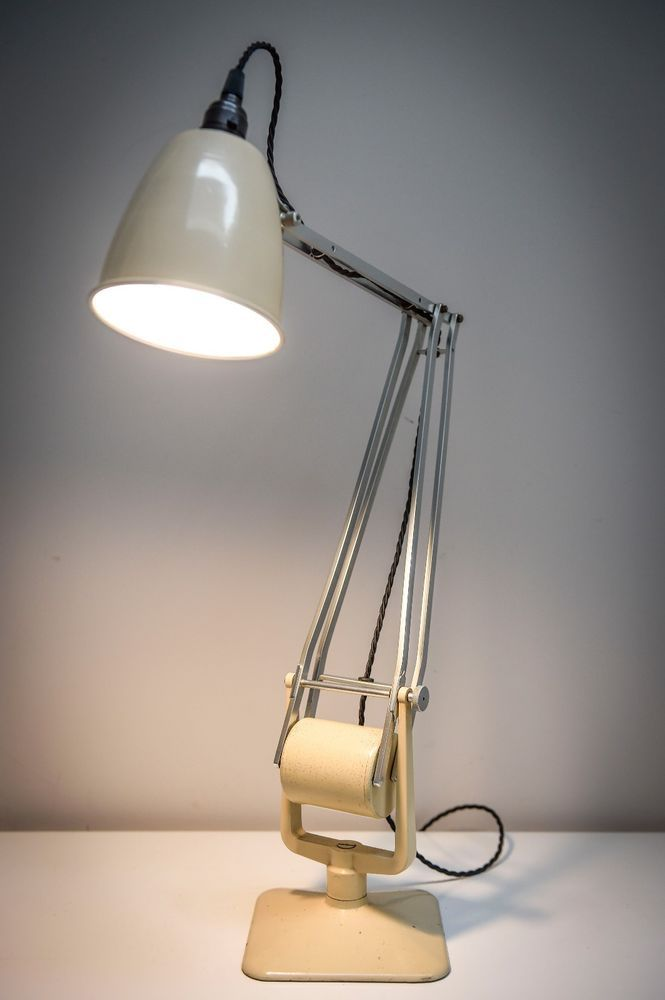 Vintage 1940s Hadrill Amp Horstmann 039 Roller 039 Table Lamp In Superb Original Paint Lamp Table Lamp Vintage