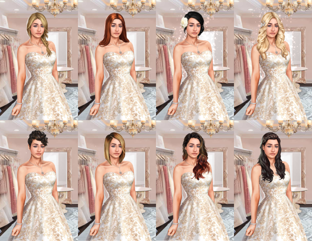 Your Character (The Royal Romance) Strapless dress