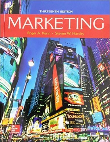 Marketing 13th edition by roger a kerin steven w hartley marketing 13th edition by roger a kerin steven w hartley author fandeluxe Image collections