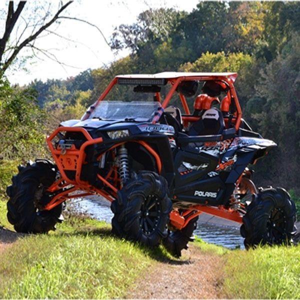 Four Wheeler Turbo Kits : High lifter rzr orange quot lift kit polaris