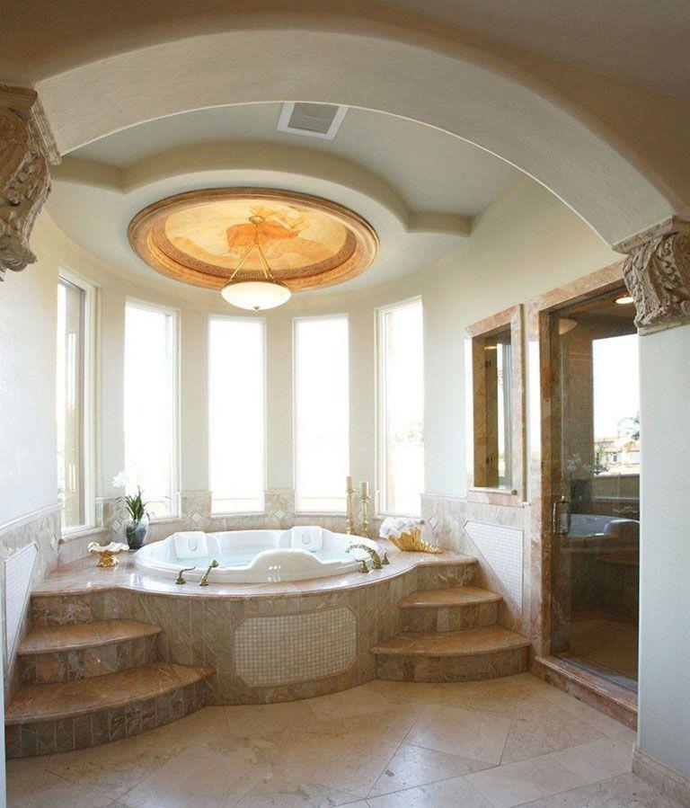 27 Amazing Maѕter Bedroom With Jacuzzi Ideaѕ Elegant Bathroom Design Elegant Bathroom Jacuzzi