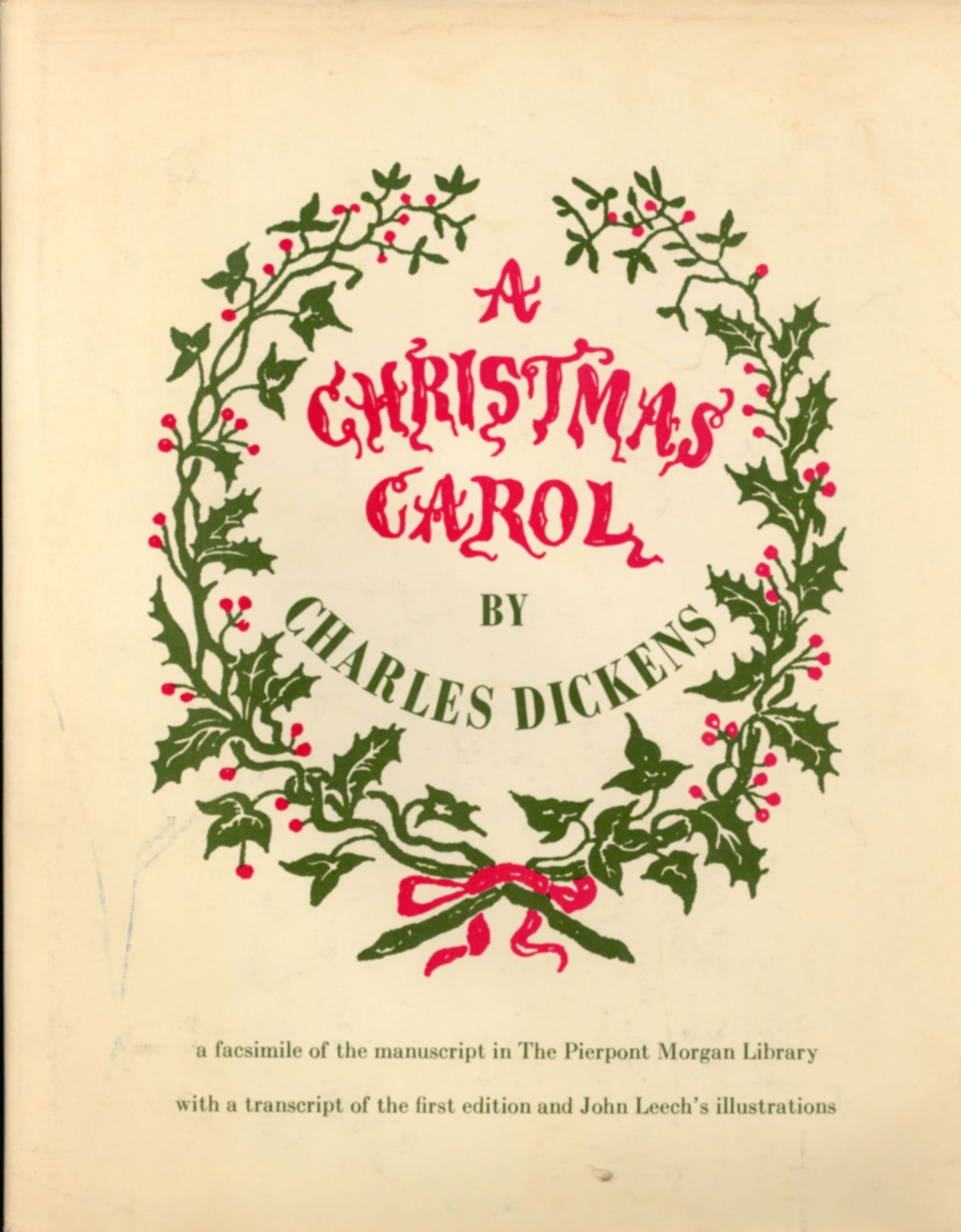 christmas carol book meaning