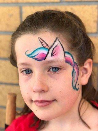 Simple Unicorn Face Paint : simple, unicorn, paint, תוצאת, תמונה, עבור, unicorn, Paint, Painting,, Painting, Unicorn,, Christmas