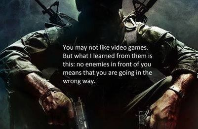 video game quotes about life | Wow! Cool video game quote on ...