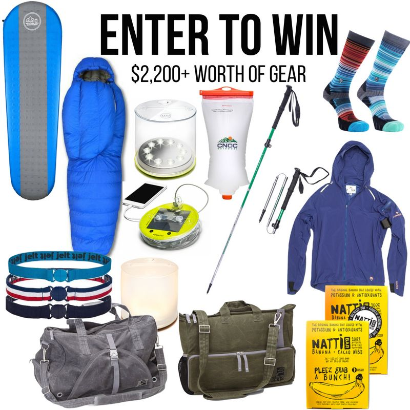 Summer Camping Gear Giveaway ($2,200+ Worth of Gear ...