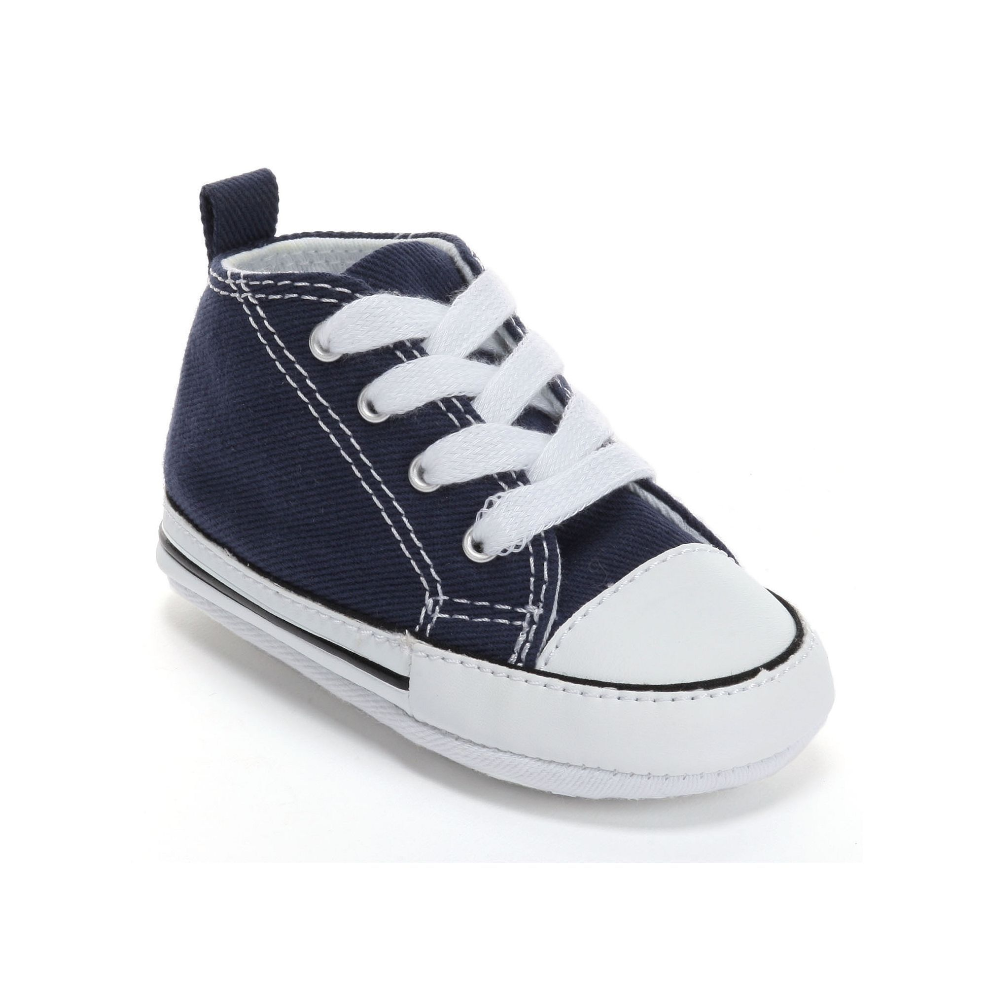 ebdf35cafa93 Baby Converse First Star Crib Shoes
