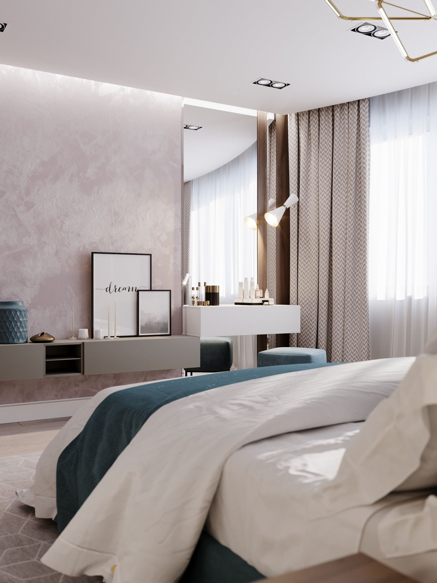 Apartment in Moscow, Russia on Behance in 2020 Interior