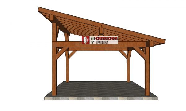 Pin By Howtospecialist On Free Gazebo Plans Pavilion Plans Wooden Playhouse Diy Shed