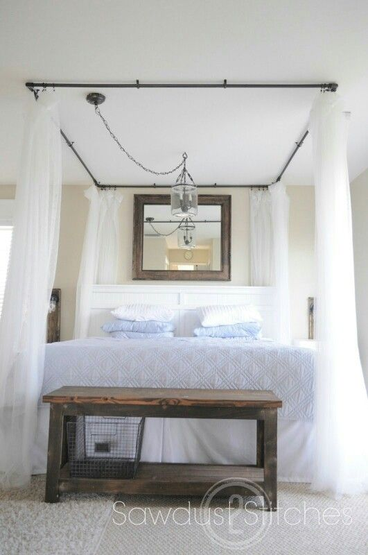 Pvc bed canopy & Pvc bed canopy | Home decor | Pinterest | Canopy Interiors and ...