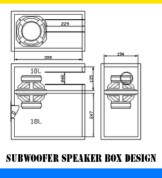 Subwoofer Speaker Box Design Subwoofer Box Design Speaker Box Design Subwoofer