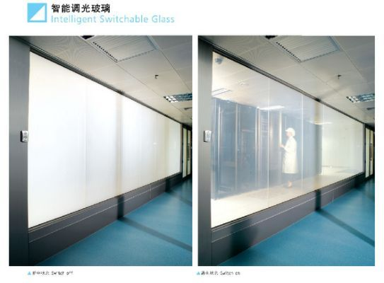 Switchable Film For Privacy Glass Divisor De Ambiente Ambiente