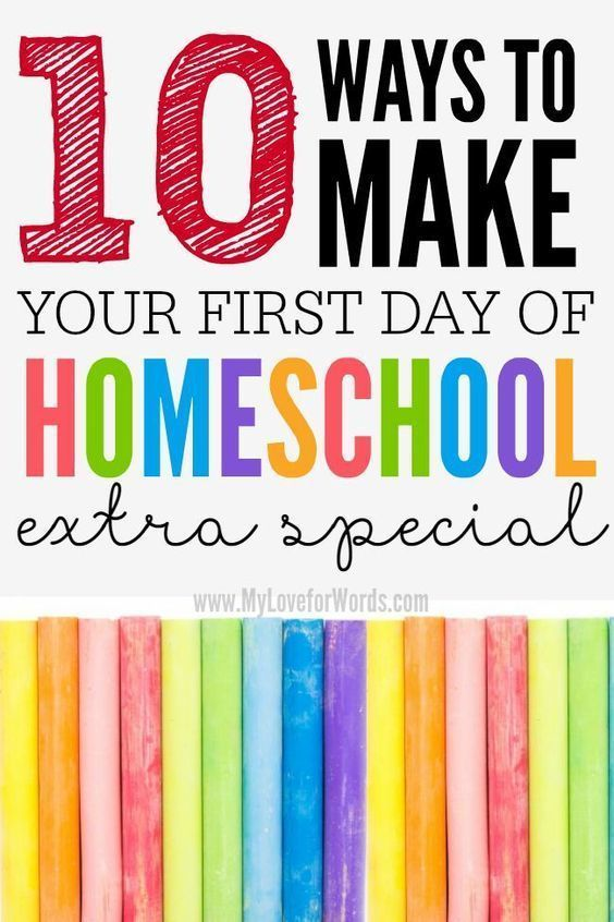 Photo of 10 Ways to make your first day Homeschooling extra special