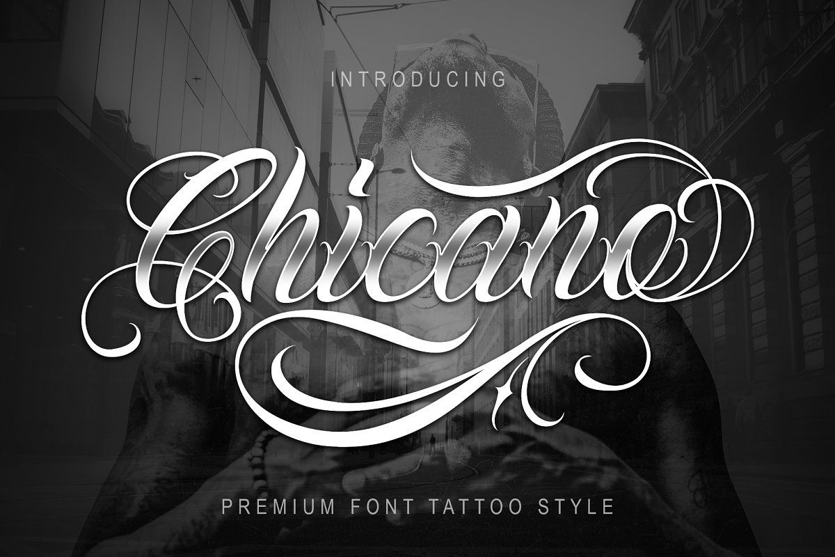 Chicano Font Tattoo Style Tattoo fonts, Chicano