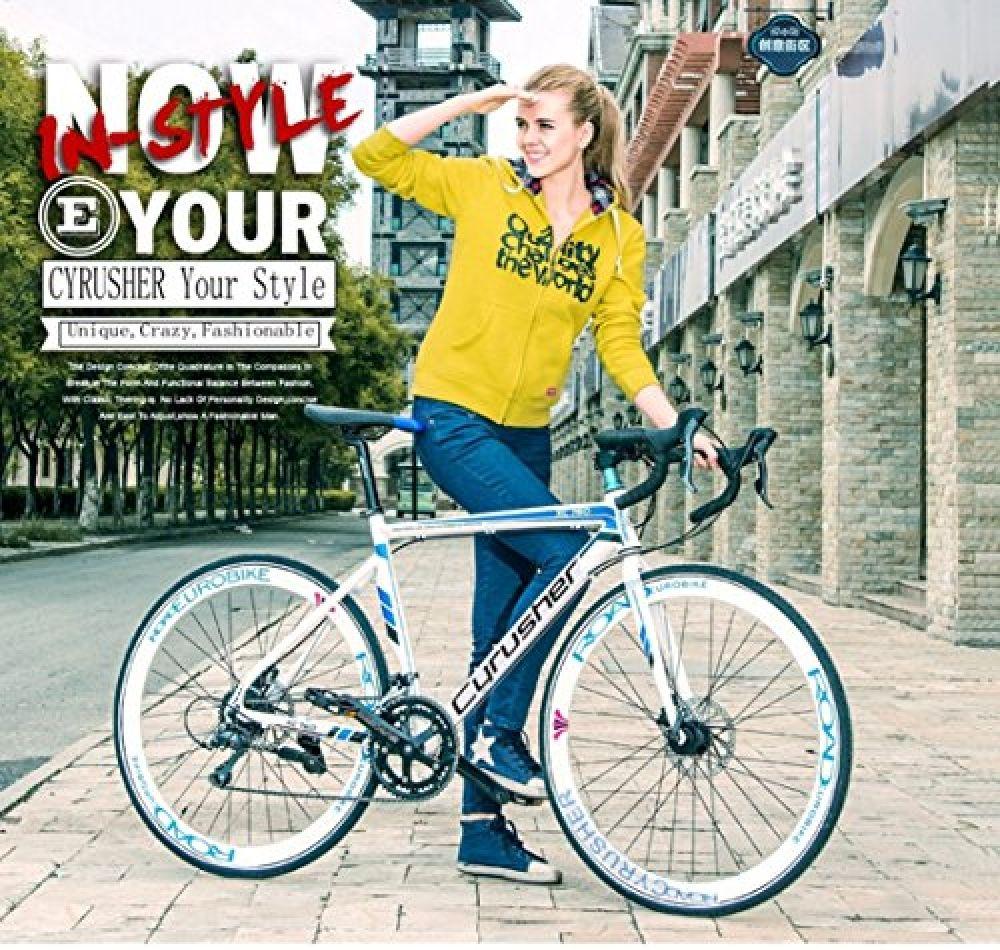 Cyrusher Xc760 Races Road Bike Commuting Cycling 52cm Aluminium