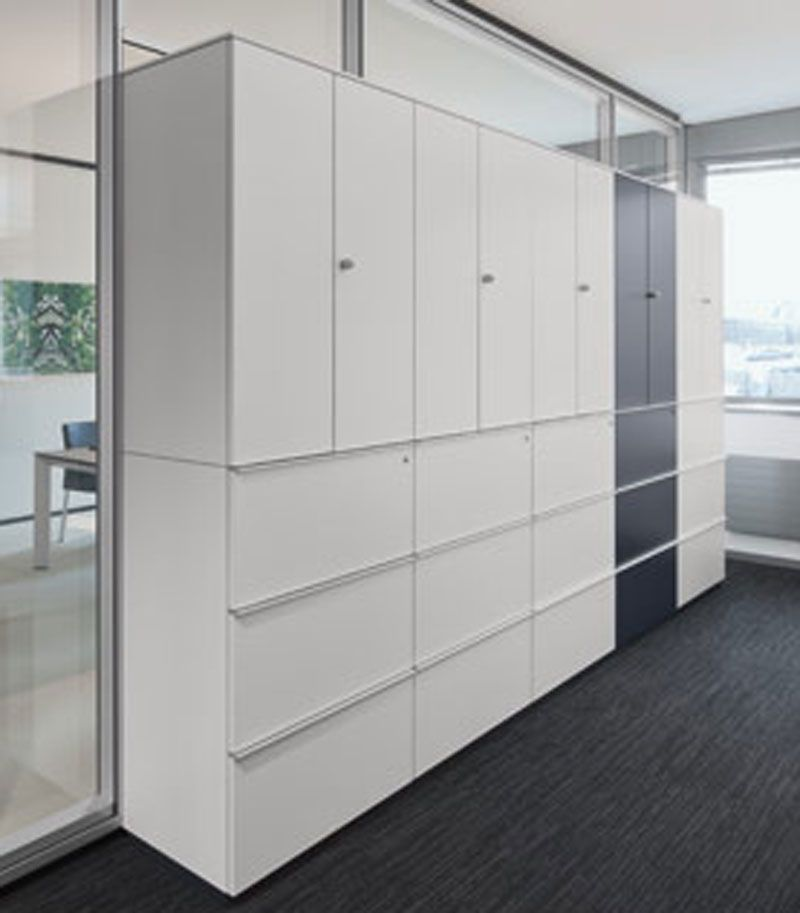 Image Result For Built In Office Storage Cabinets