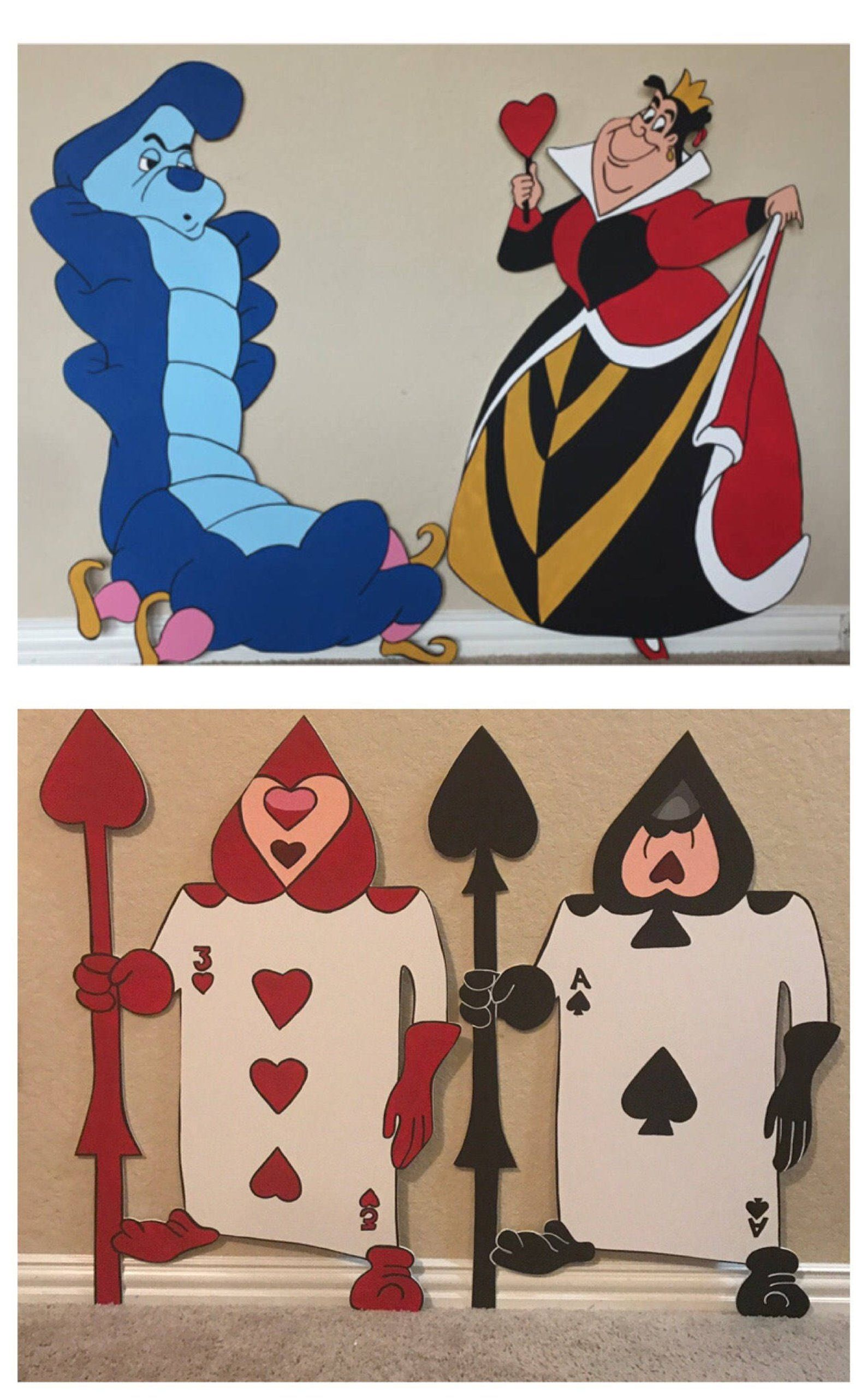 1 Alice Or Friends Cutout Prop With Images Alice In Wonderland