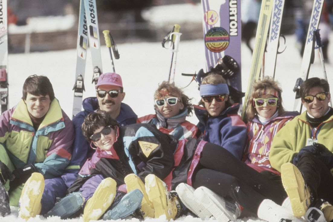 A group shot from the 80's. #MountainCreek