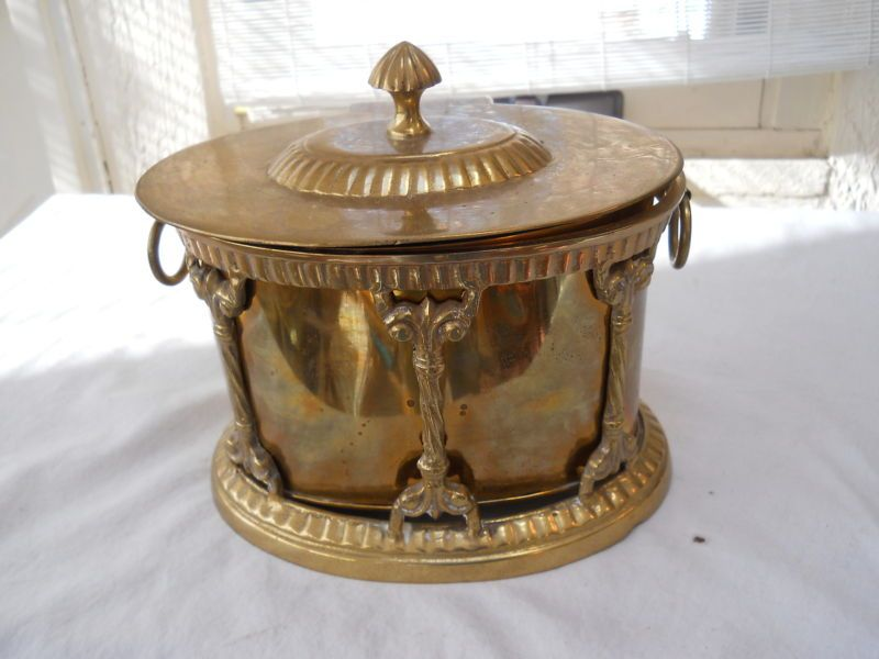 VTG Brass Humidor India Decorative Crafts Tobacco Jar Box | eBay
