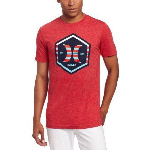Hurley Men's Party Hex Premium Shirt, Heather, La ($18.75)